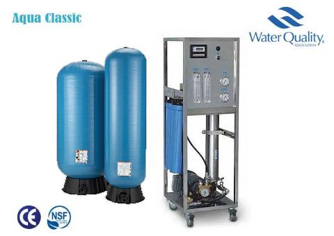 تصفیه آب صنعتی با ظرفیت 6000 لیتر Aqua Classic