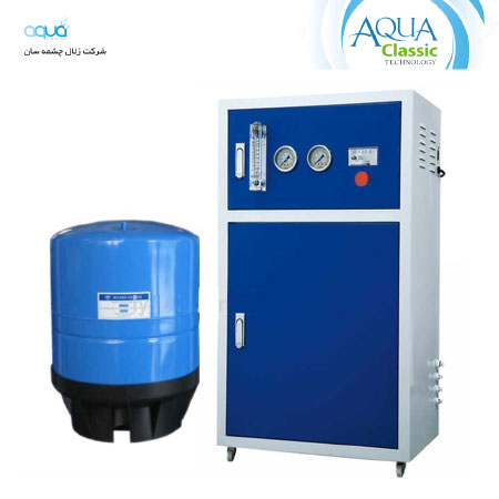 تصفیه آب صنعتی و انواع آب شیرین کن ها