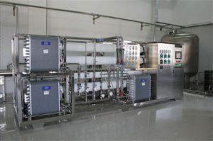 تولید آب فوق خالص به روش Electrodialysis