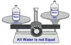 آب سنگین چیست موارد کاربرد آن آب نیمه سنگین