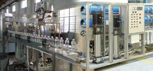 سیستم تصفیه آب و خطوط آب معدنی